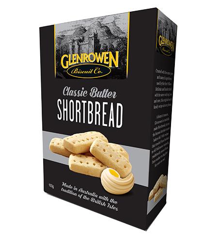 Glenrowen Classic Butter Shortbread 150g