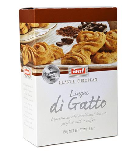Ital Classic Cafe Linge di Gatto Caffe 150g