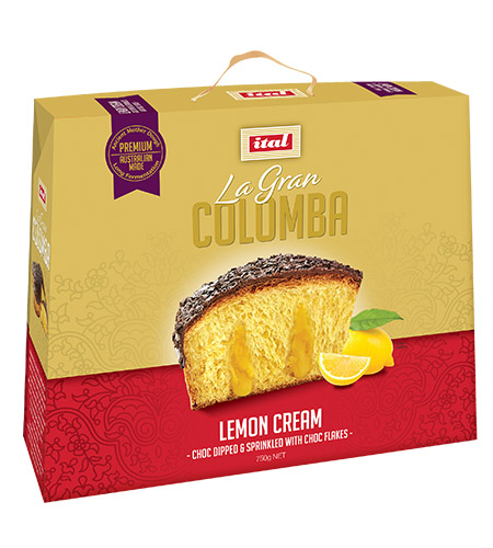 Colomba Lemon Cream 750g