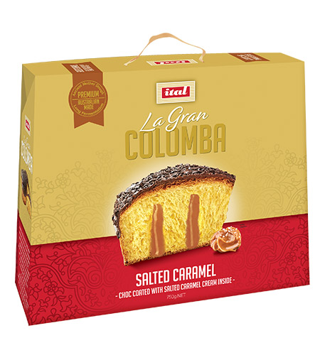 Ital Easter Colomba Gold Range Salted Caramel 750g