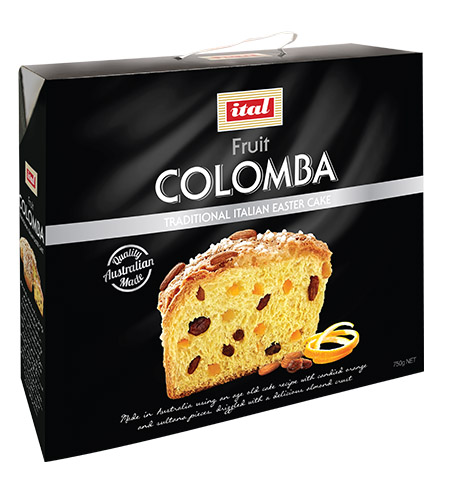 Ital Easter Colomba Black Box Traditional Fruit