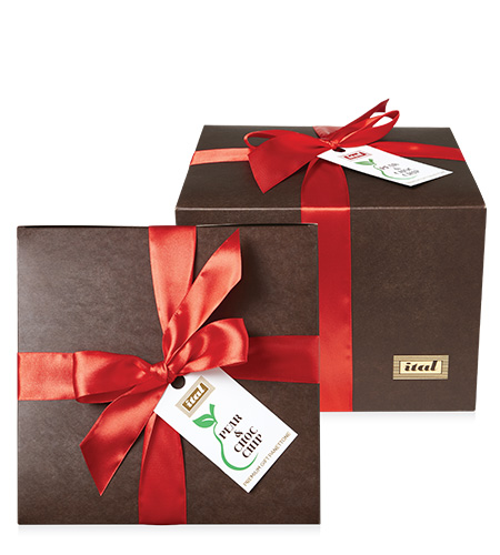 Ital Christmas Panettone Pear Choc Chip Gift Box