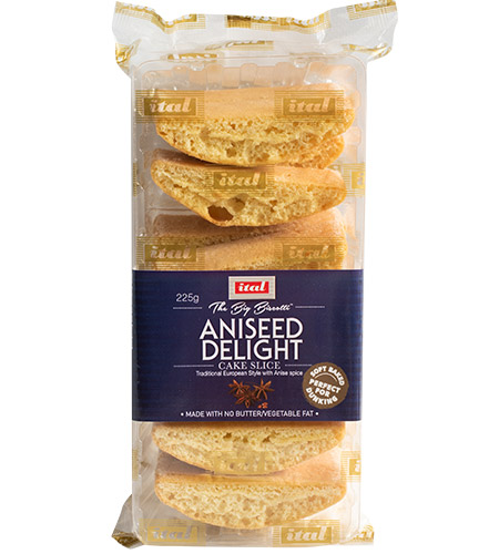 Ital Authentics Almond Delight Cake Slice 225g
