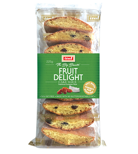 Ital Authentics Fruit Delight Cake Slice 225g
