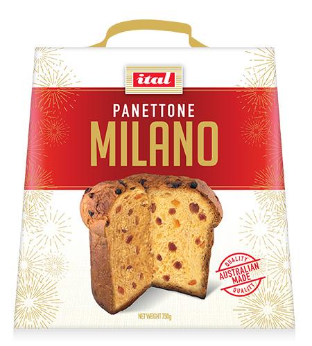 Ital Christmas Panettone Milano 750g
