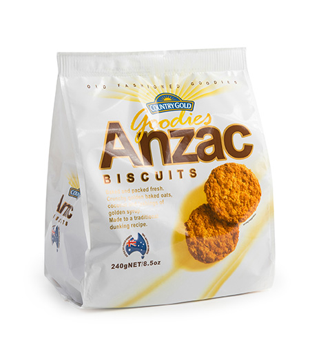 Country Gold Goodies Anzac 240g