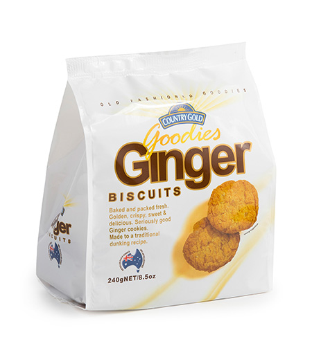 Country Gold Goodies Ginger 240g