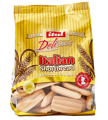 Ital Family Value Italian Shortbread 450g