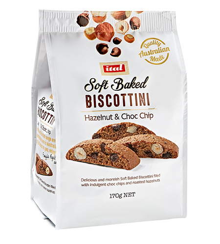BISCOTTINI CRANBERRY & COCONUT 170G