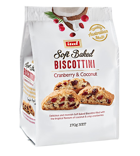 Ital Soft Baked Cranberry Coconut170g