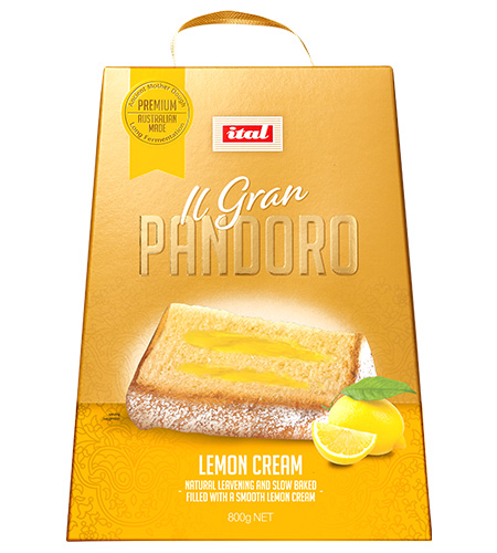 Pandoro Lemon Cream 800g