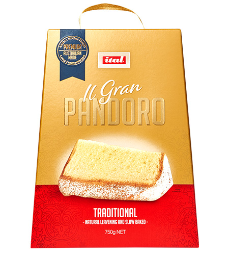 Pandoro Traditional Fruit 750g