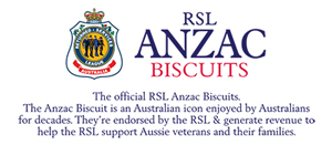 RSL Anzac Biscuits